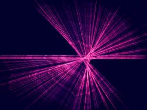 Laser beam diodes create deep-UV light