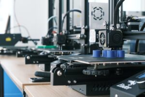 Optical fibers production by 3D printing
